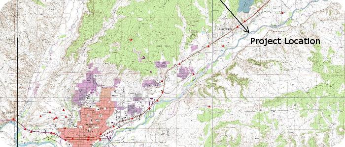 Animas-River-Penny-Lane-Dam-Farmington-NM-Site-Location-Map