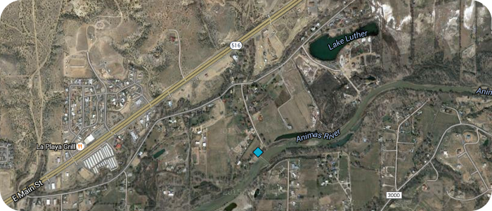 Animas-River-Penny-Lane-Dam-in-Farmington-NM-Map