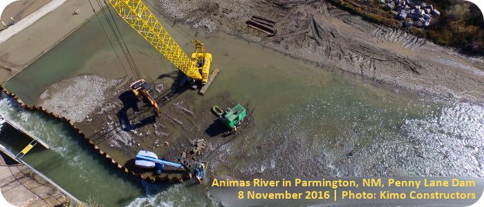 Animas-River-Farmington-NM-Penny-Lane-Dam-Modification