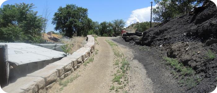 Redi-Rock Wall (as built)