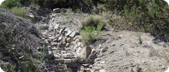 Rock Step Pool (as built)