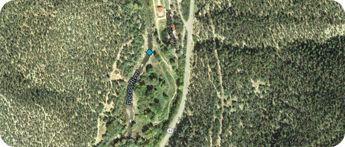 Pecos-River-near-Pecos-NM-UPWA-Hatchistery-Map