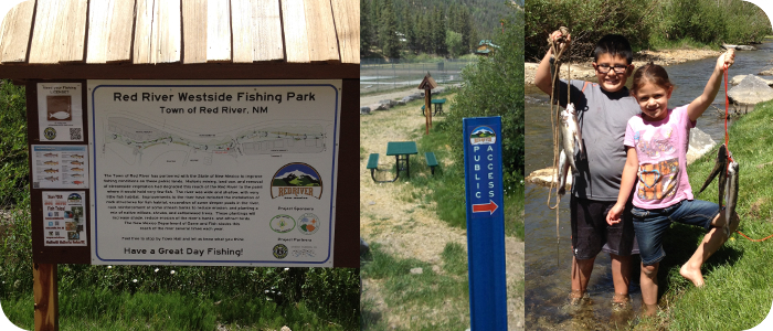 Red-River-in-Red-River-NM-Westside-Fishing-Park-signs-success