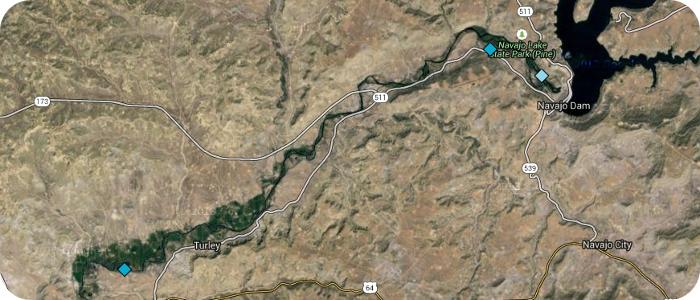 San-Juan-River-below-Navajo-Dam-NM-Quality-Waters-Map
