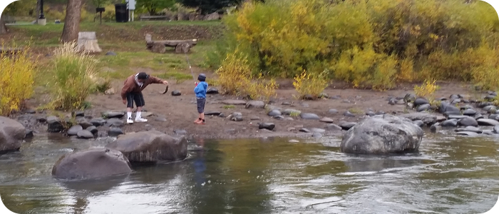 Pagosa springs whitewater park on the san juan river for Colorado springs fishing